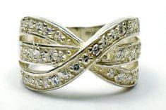 Amiatex Ezüst gyűrű 14259