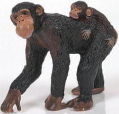 Papo Papo Šimpanz samice a mládě
