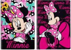 Safta Sešit A4 Minnie Pink čtverečkovaný 80 listů