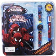 EUROSWAN Sada hodinky / propiska / diář Spiderman