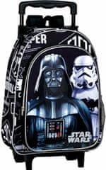 PERONA Batoh na kolečkách Star Wars 3D 37cm černý