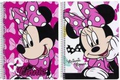 Safta Sešit A5 Minnie Pink čtverečkovaný 80 listů