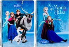 Safta Sešit A5 Frozen Friends čtverečkovaný 80 listů