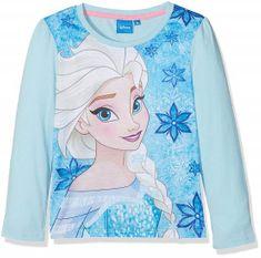 Sun City Dětské tričko Frozen Elsa II modré Velikost: 104 (4 roky)