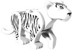 Pogo Figurka Tygr bílý 8cm