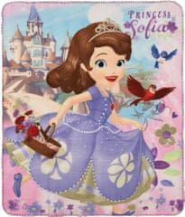 Sun City Fleecová / fleece deka Princezna Sofie První 120x140