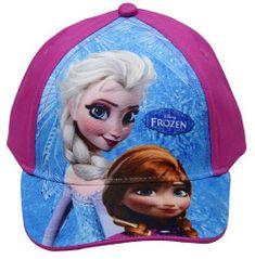 STAMION Dětská kšiltovka Frozen Ledové království Anna a Elsa bavlna vel. 52-54 Velikost: 54