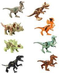 KOPF Figurky Jurský park dinosauři sada 8ks IV 8cm