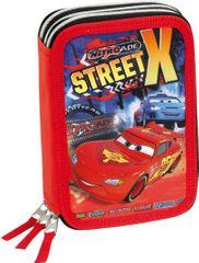 PERONA Třípatrový penál Cars Street X plný