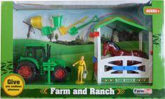 ICOM Farma s traktorem a stájí sada 10ks II