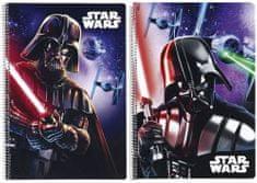 Safta Sešit A4 Star Wars Darth Vader čtverečkovaný 80 listů