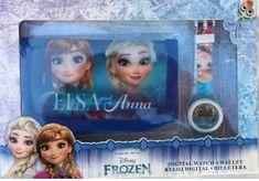 EUROSWAN Dárkový set hodinky a peněženka Frozen