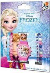 EUROSWAN Dárkový set hodinky a náramky Frozen 5ks