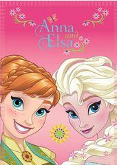 STAMION Fleecová / fleece deka Frozen Ledové království Květiny 100x140