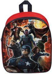Sambro Dětský batoh Avengers 31 cm červený