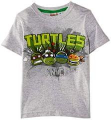 Sun City Dětské tričko Želvy Ninja TMNT bavlna šedé Velikost: 2 roky