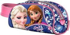 KARACTERMANIA Penál Frozen / cestovní taštička Frozen 21x10