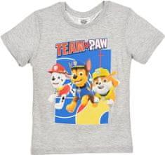 Sun City Dětské tričko Paw Patrol bavlna šedé Velikost: 116 (6 let)