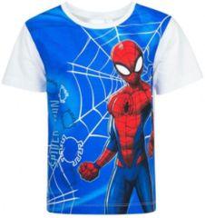 Sun City Dětské tričko Spiderman bavlna bílé Velikost: 98 (3 roky)