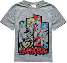 Sun City Dětské tričko Avengers Team bavlna šedé Velikost: 104 (4 roky)