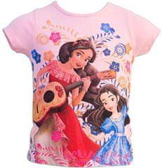 Sun City Dětské tričko Elena z Avaloru bavlna růžové Velikost: 104 (4 roky)