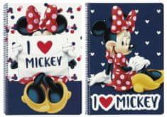 Safta Sešit A4 Minnie Love čtverečkovaný 80 listů