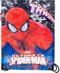 Sambro Sportovní lehký batůžek Spiderman / sáček Spiderman 40x30 cm