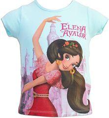 Sun City Dětské tričko Elena z Avaloru bavlna tyrkysové Velikost: 104 (4 roky)
