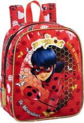 Safta Dětský batoh Kouzelná Beruška 27cm červený