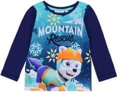Sun City Dětské tričko Paw Patrol Rescue modré Velikost: 104 (4 roky)