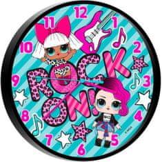 ToyCompany Nástěnné hodiny L.O.L. Surprise 25cm
