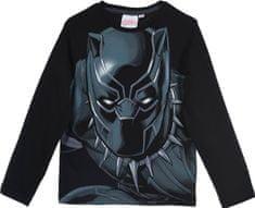 Sun City Dětské tričko Avengers Black Panther bavlna černé Velikost: 104 (4 roky)