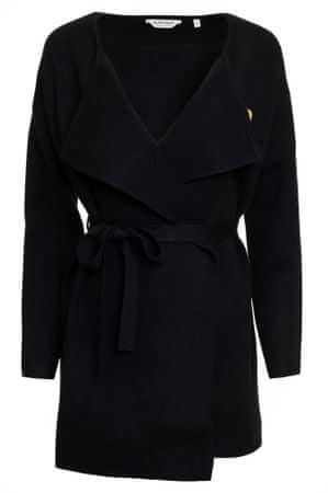 NAFNAF Mored ženska obleka LHNG11, L, črna