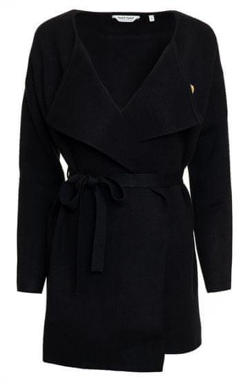 NAFNAF dámsky sveter Mored LHNG11 L čierna
