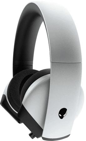 DELL słuchawki Alienware AW510H, srebrne (545-BBCG)
