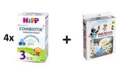HiPP 3 BIO Combiotik - 4 x 600g