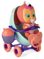 TM Toys Cry Babies Magic Tears komplet punčke z vozičkom