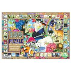 eeBoo Puzzle Umění přírody 100 dílků