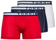 Tommy Hilfiger trojité balení pánských boxerek UM0UM01563 3P TRUNK STRIPE