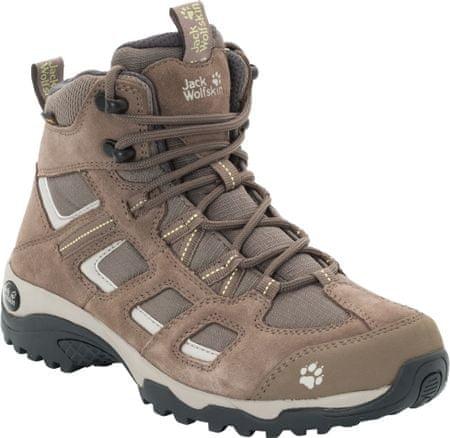 Jack Wolfskin Vojo Hike 2 Texapore Mid M Siltstone ženski pohodniški čevlji, 37.5