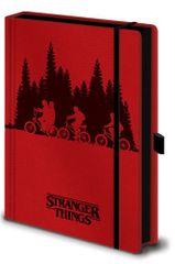 Zápisník Stranger Things - Upside Down (A5)