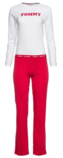 Tommy Hilfiger dámské pyžamo UW0UW01929 SET LS S vícebarevná
