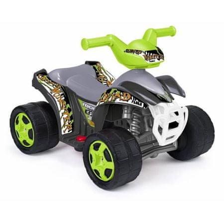 Feber Šlapací elektrická čtyřkolka Quad Monster 6V