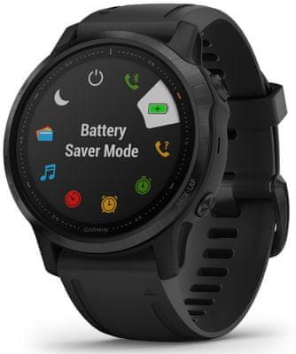 Inteligentné hodinky Garmin fénix 6S PRO, dlhá výdrž batérie, vodeodolné, odolné, tvrdené sklo, Gorilla Glass, vojenský štandard