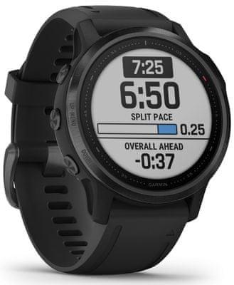 Inteligentné hodinky Garmin fénix 6S PRO, optické sledovanie tepu, srdcovú činnosť, variabilita pulzu, okysličenie krvi, aeróbna vytrvalosť, VO2 Max, bežecké cyklistické metriky
