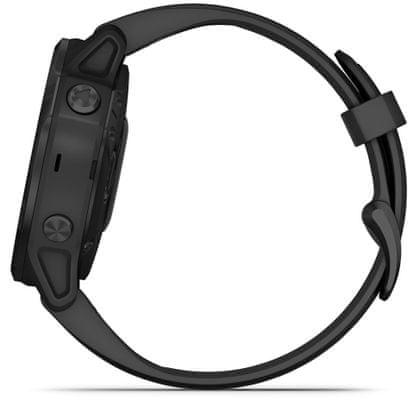Inteligentné hodinky Garmin fénix 6S PRO, hudobný prehrávač, bezkontaktné platby, notifikácie z telefónu, z aplikácií