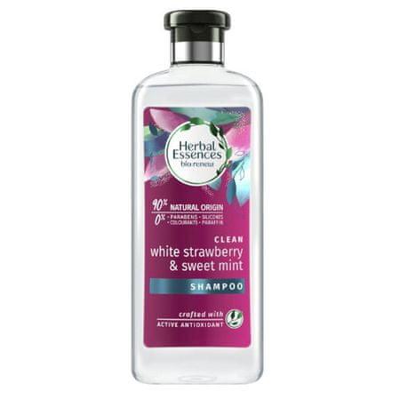 Tisztító samponClean White Strawberry & Sweet Mint (Shampoo) 400 ml