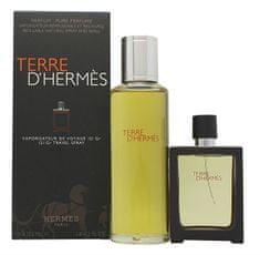 Hermès Terre D` Hermes - EDP 30 ml (plnitelná) + náplň 125 ml