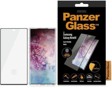 PanzerGlass Panzerglass zaščitno steklo za Galaxy Note10 CF, črno