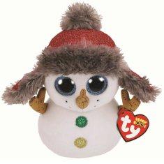 TY Beanie Boos Buttons - sněhulák 24 cm